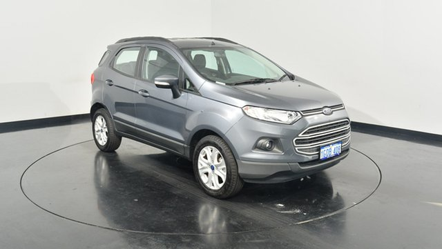 Used Ford Ecosport BK Trend PwrShift, 2017 Ford Ecosport BK Trend PwrShift Smoke 6 Speed Sports Automatic Dual Clutch Wagon