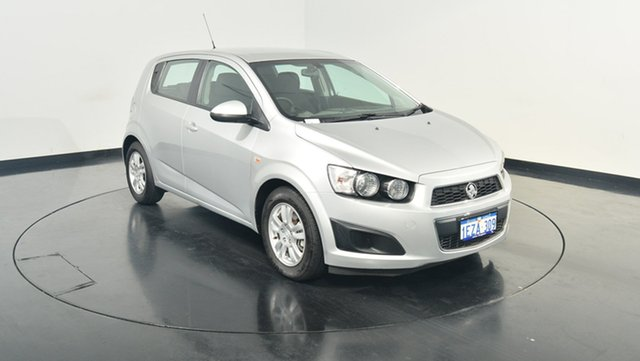 Used Holden Barina TM MY16 CD, 2016 Holden Barina TM MY16 CD Silver 6 Speed Automatic Hatchback