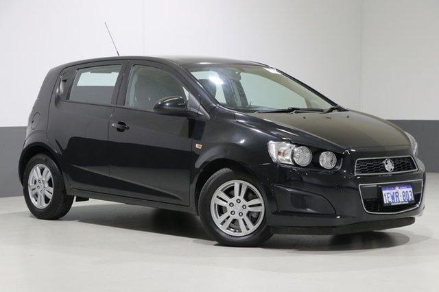 Used Holden Barina TM MY15 CD, 2015 Holden Barina TM MY15 CD Black 6 Speed Automatic Hatchback