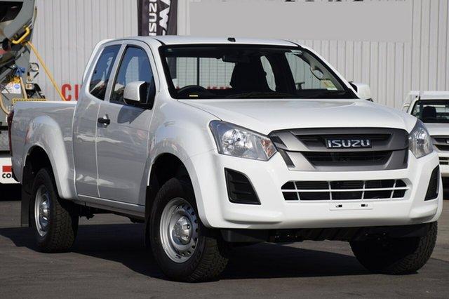 New Isuzu D-MAX MY19 SX Space Cab 4x2 High Ride, 2020 Isuzu D-MAX MY19 SX Space Cab 4x2 High Ride Splash White 6 Speed Sports Automatic Utility