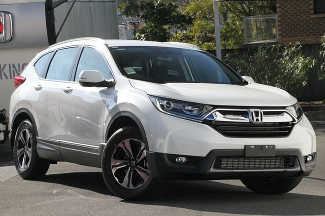 New Honda CR-V RW MY19 VTi FWD, 2019 Honda CR-V RW MY19 VTi FWD Platinum White 1 Speed Constant Variable Wagon