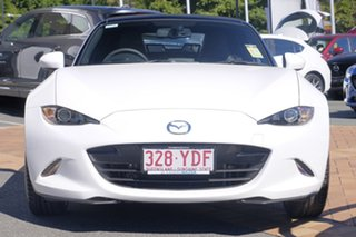 2017 Mazda MX-5 ND GT SKYACTIV-MT Crystal White Pearl 6 Speed Manual Roadster