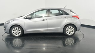 2013 Hyundai i30 GD Active Hyper Silver 6 Speed Sports Automatic Hatchback.