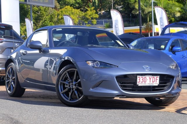 Demo Mazda MX-5 ND GT RF SKYACTIV-MT, 2017 Mazda MX-5 ND GT RF SKYACTIV-MT Blue Reflex 6 Speed Manual Targa