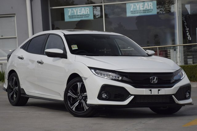 New Honda Civic 10th Gen MY18 RS, 2018 Honda Civic 10th Gen MY18 RS White Orchid 1 Speed Constant Variable Hatchback