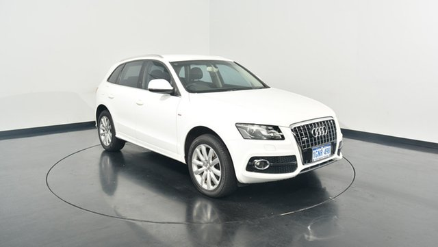 Used Audi Q5 8R MY11 TDI S tronic quattro, 2011 Audi Q5 8R MY11 TDI S tronic quattro White 7 Speed Sports Automatic Dual Clutch Wagon