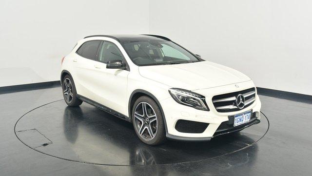 Used Mercedes-Benz GLA 250 4MATIC X156 DCT 4MATIC, 2014 Mercedes-Benz GLA 250 4MATIC X156 DCT 4MATIC White 7 Speed Sports Automatic Dual Clutch Wagon
