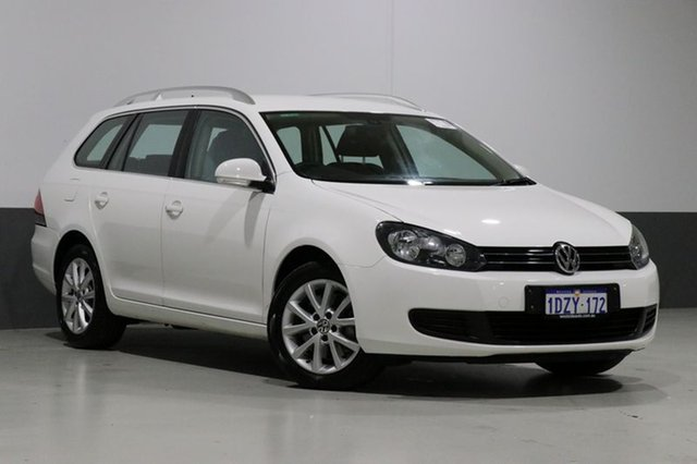 Used Volkswagen Golf 1K MY12 103 TDI Comfortline, 2012 Volkswagen Golf 1K MY12 103 TDI Comfortline White 6 Speed Direct Shift Wagon