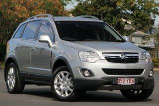 2015 Holden Captiva CG MY15 5 LT Silver 6 Speed Sports Automatic Wagon.