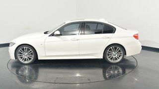 2015 BMW 320d F30 MY1114 M Sport White 8 Speed Sports Automatic Sedan.