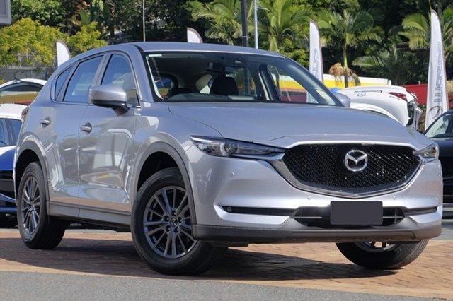 New Mazda CX-5 KF4W2A Touring SKYACTIV-Drive i-ACTIV AWD Hillcrest, 2020 Mazda CX-5 KF4W2A Touring SKYACTIV-Drive i-ACTIV AWD Sonic Silver 6 Speed Sports Automatic