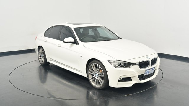 Used BMW 320d F30 MY1114 M Sport, 2015 BMW 320d F30 MY1114 M Sport White 8 Speed Sports Automatic Sedan