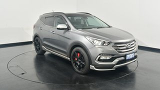 2016 Hyundai Santa Fe DM3 MY16 SR Grey 6 Speed Sports Automatic Wagon.