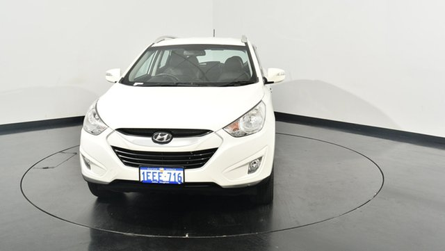 Used Hyundai ix35 LM2 Elite AWD, 2013 Hyundai ix35 LM2 Elite AWD Vanilla White 6 Speed Sports Automatic Wagon