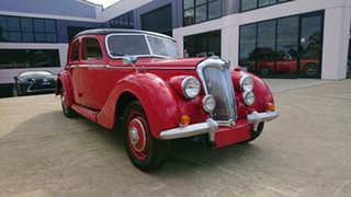 1948 Riley RM Saloon Red 4 Speed Manual Sedan.