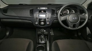 2010 Kia Cerato TD MY10 S White 4 Speed Sports Automatic Sedan