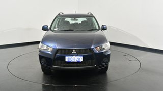 2011 Mitsubishi Outlander ZH MY11 LS Blue 6 Speed Constant Variable Wagon.