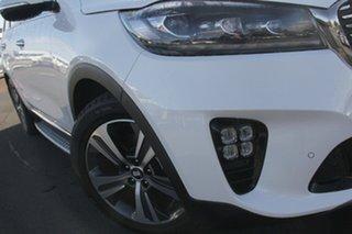 2018 Kia Sorento UM MY18 GT-Line AWD Snow White Pearl 8 Speed Sports Automatic Wagon.