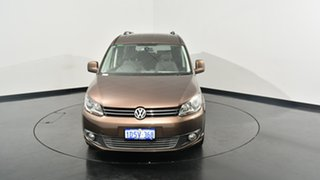 2011 Volkswagen Caddy 2K MY12 TDI320 Wagon Life Maxi DSG Comfortline Brown 6 Speed.
