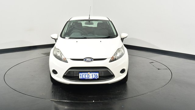 Used Ford Fiesta WZ Ambiente, 2013 Ford Fiesta WZ Ambiente White 5 Speed Manual Hatchback