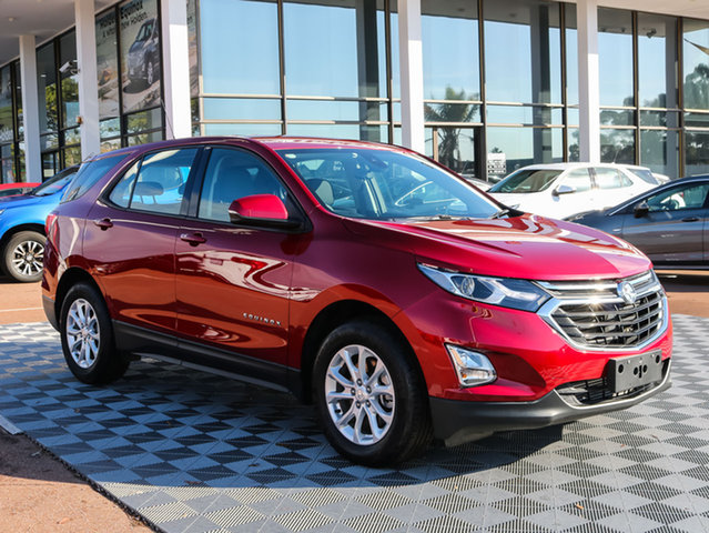 Used Holden Equinox EQ MY18 LS+ FWD, 2017 Holden Equinox EQ MY18 LS+ FWD Red 6 Speed Sports Automatic Wagon