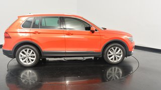 2017 Volkswagen Tiguan 5N MY17 162TSI DSG 4MOTION Highline Habanero Orange Metallic 7 Speed.