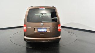 2011 Volkswagen Caddy 2K MY12 TDI320 Wagon Life Maxi DSG Comfortline Brown 6 Speed