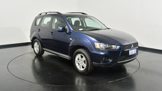 2011 Mitsubishi Outlander ZH MY11 LS Blue 6 Speed Constant Variable Wagon