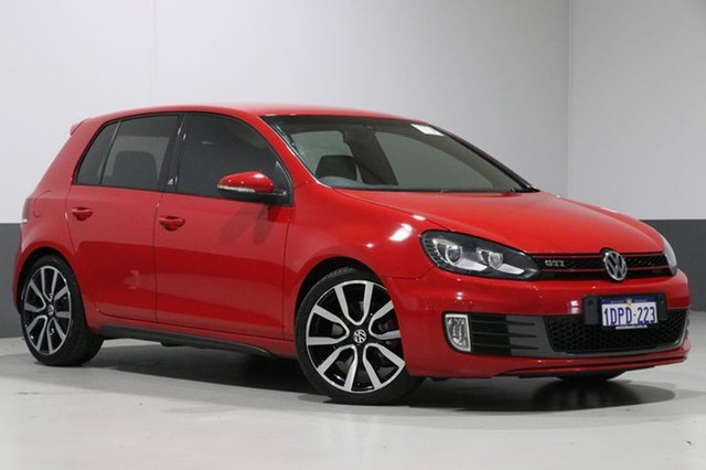 Used Volkswagen Golf 1K MY11 GTI Adidas, 2011 Volkswagen Golf 1K MY11 GTI Adidas Red 6 Speed Direct Shift Hatchback
