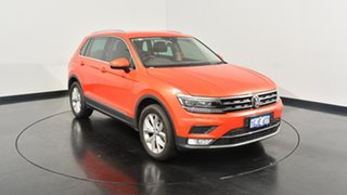 2017 Volkswagen Tiguan 5N MY17 162TSI DSG 4MOTION Highline Habanero Orange Metallic 7 Speed