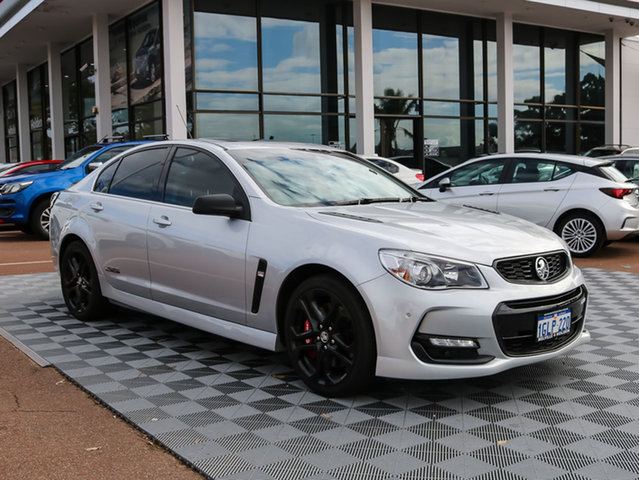 Used Holden Commodore VF II MY16 SS V Redline, 2016 Holden Commodore VF II MY16 SS V Redline Silver 6 Speed Sports Automatic Sedan