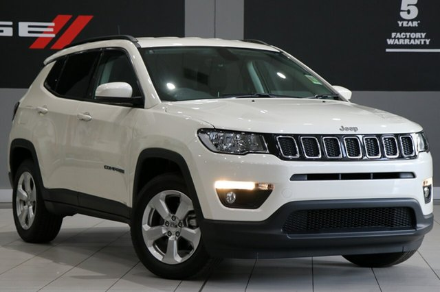 New Jeep Compass M6 MY18 Longitude FWD, 2018 Jeep Compass M6 MY18 Longitude FWD Vocal White 6 Speed Automatic Wagon