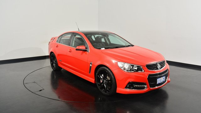 Used Holden Commodore VF MY15 SS V Redline, 2015 Holden Commodore VF MY15 SS V Redline Red 6 Speed Sports Automatic Sedan