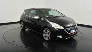 2014 Peugeot 208 A9 MY13 GTi Black 6 Speed Manual Hatchback