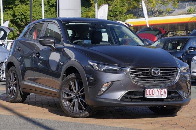 Demo Mazda CX-3 DK4W7A Akari SKYACTIV-Drive i-ACTIV AWD, 2018 Mazda CX-3 DK4W7A Akari SKYACTIV-Drive i-ACTIV AWD Meteor Grey 6 Speed Sports Automatic Wagon