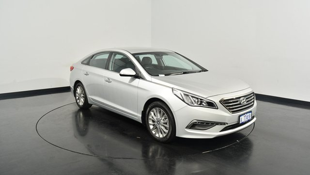 Used Hyundai Sonata LF Elite, 2015 Hyundai Sonata LF Elite Silver 6 Speed Sports Automatic Sedan
