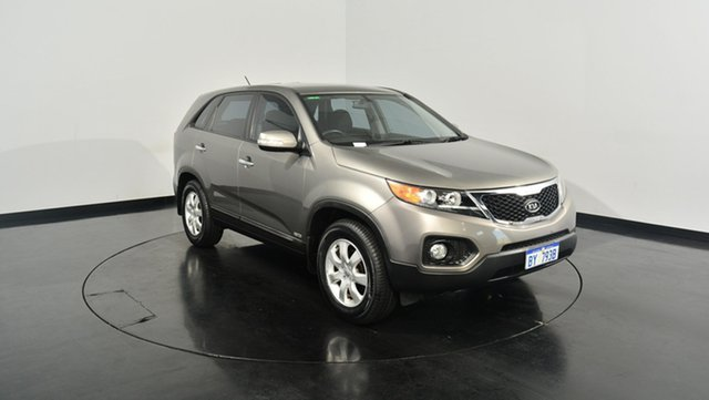 Used Kia Sorento XM MY12 SI, 2012 Kia Sorento XM MY12 SI Chrome 6 Speed Manual Wagon