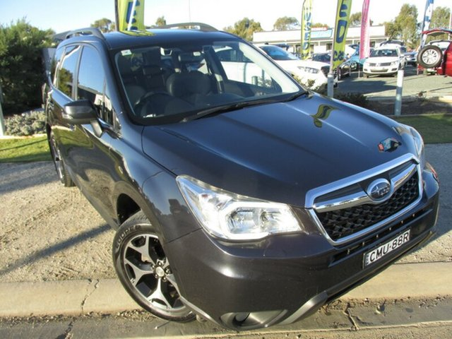 Used Subaru Forester S4 MY13 2.5i-S Lineartronic AWD, 2013 Subaru Forester S4 MY13 2.5i-S Lineartronic AWD Black 6 Speed Constant Variable Wagon