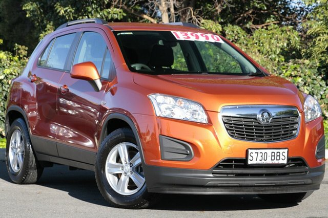 Used Holden Trax TJ MY14 LS, 2014 Holden Trax TJ MY14 LS Orange Rock 6 Speed Automatic Wagon