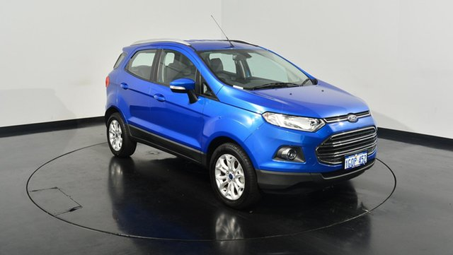 Used Ford Ecosport BK Titanium PwrShift, 2017 Ford Ecosport BK Titanium PwrShift Kinetic 6 Speed Sports Automatic Dual Clutch Wagon