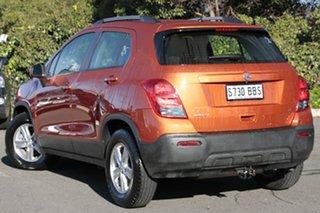 2014 Holden Trax TJ MY14 LS Orange Rock 6 Speed Automatic Wagon.