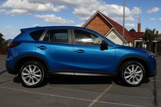 2013 Mazda CX-5 KE1021 MY13 Grand Touring SKYACTIV-Drive AWD Blue 6 Speed Sports Automatic Wagon.