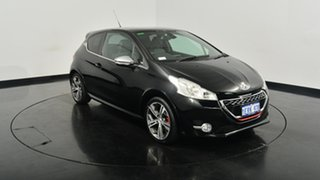 2014 Peugeot 208 A9 MY13 GTi Black 6 Speed Manual Hatchback.