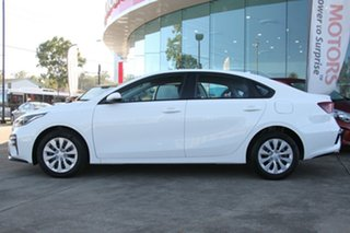 2020 Kia Cerato BD MY21 S Clear White 6 Speed Automatic Sedan.