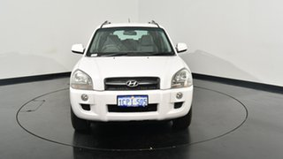 2007 Hyundai Tucson JM MY07 City SX White 4 Speed Sports Automatic Wagon
