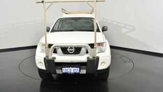2009 Nissan Navara D40 ST-X White 6 Speed Manual Utility