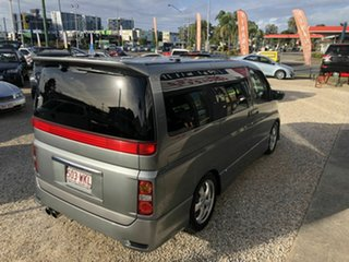 2004 Nissan Elgrand E51 Highway Star Grey 5 Speed Automatic Wagon