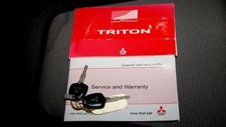 2015 Mitsubishi Triton MN MY15 GLX Double Cab Black 4 Speed Sports Automatic Utility