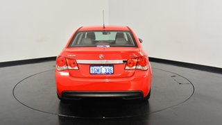 2012 Holden Cruze JH Series II MY13 SRi Red 6 Speed Sports Automatic Sedan