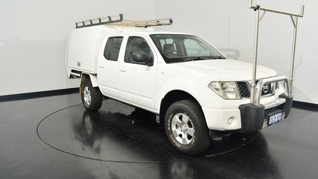 Used Nissan Navara D40 ST-X, 2009 Nissan Navara D40 ST-X White 6 Speed Manual Utility